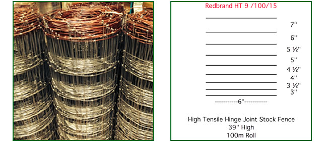 Redbrand 1m High Tall Stock Fence, the stock fencing range from The ...